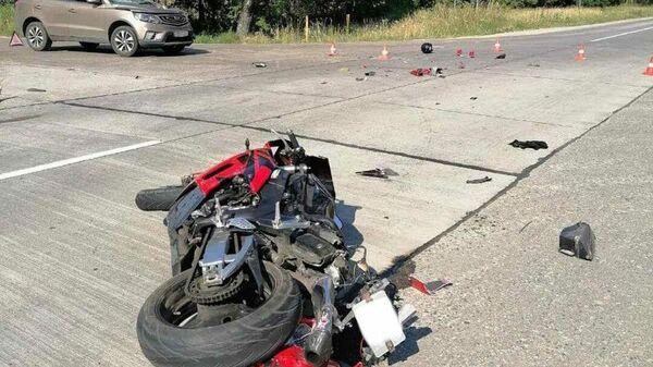 Под Мачулищами погибли 51-летний мотоциклист и его пассажир - Sputnik Беларусь