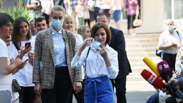 Партия Майи Санду получила полноту власти в Молдове: чем это обернется? - Sputnik Беларусь