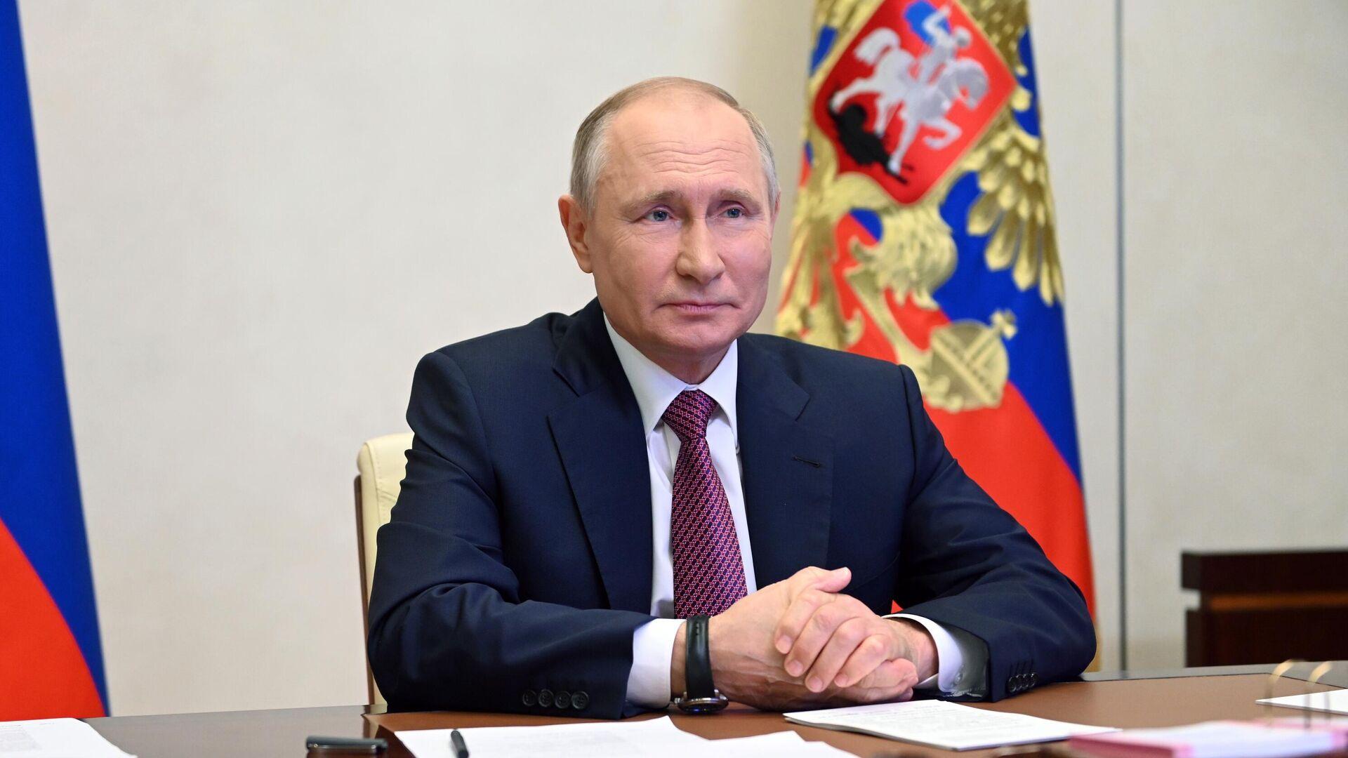Президент РФ В. Путин - Sputnik Беларусь, 1920, 25.09.2021