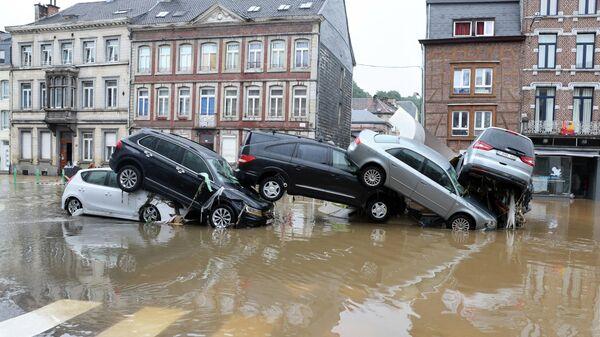 Наводнение в Бельгии - Sputnik Беларусь