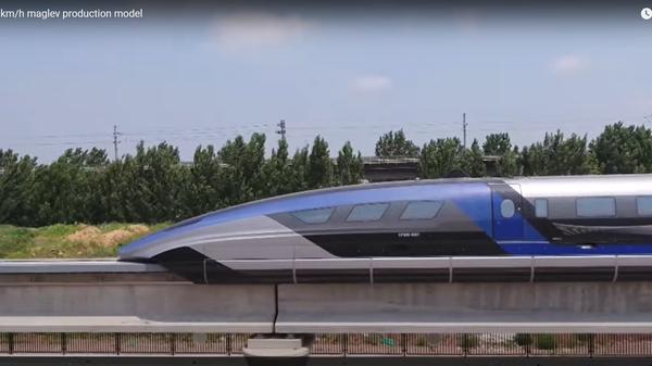 В Китае презентовали самый быстрый в мире пассажирский поезд – видео - Sputnik Беларусь