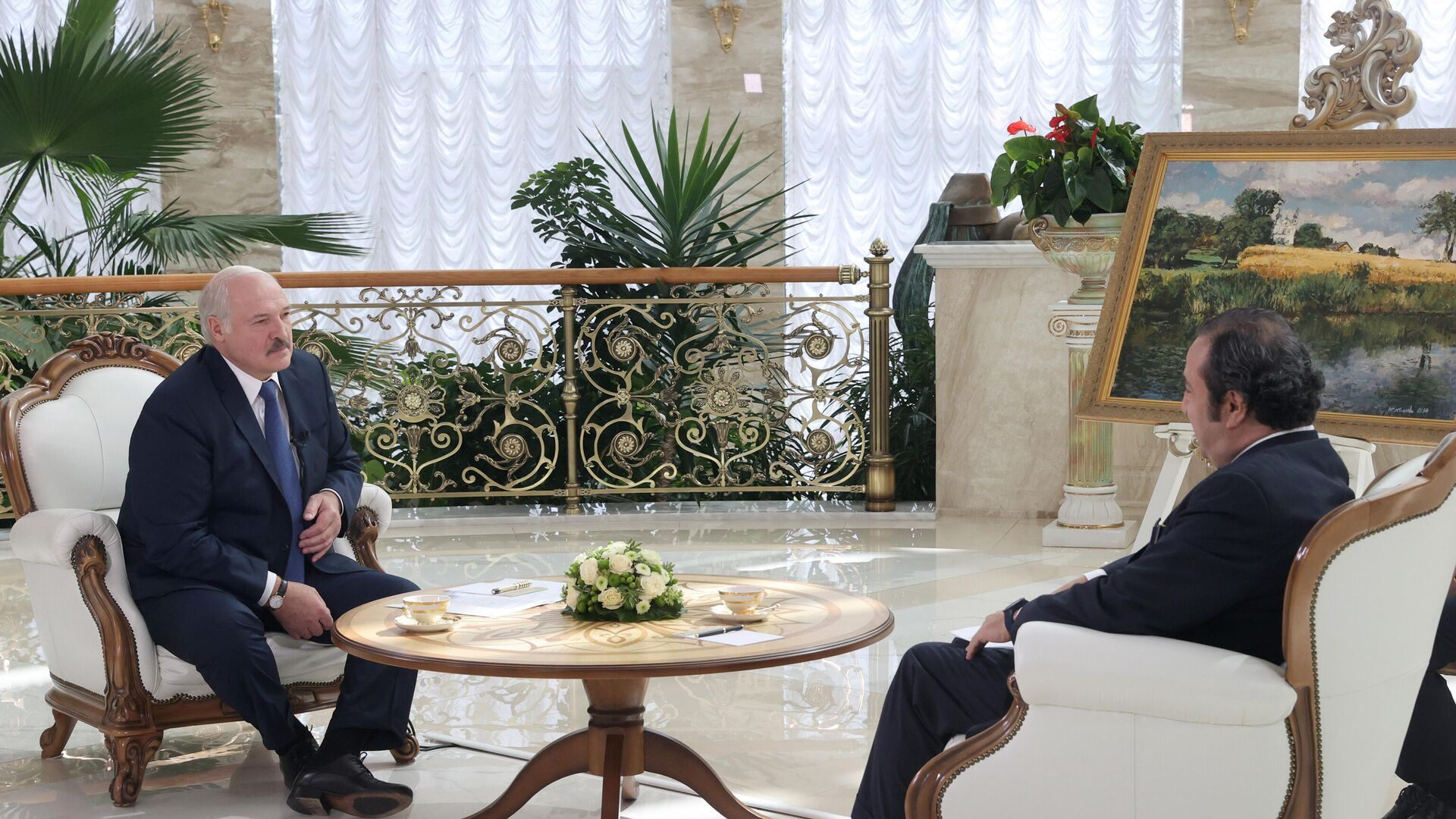 Интервью президента Беларуси Александра Лукашенко телеканалу Sky News Arabia - Sputnik Беларусь, 1920, 21.07.2021