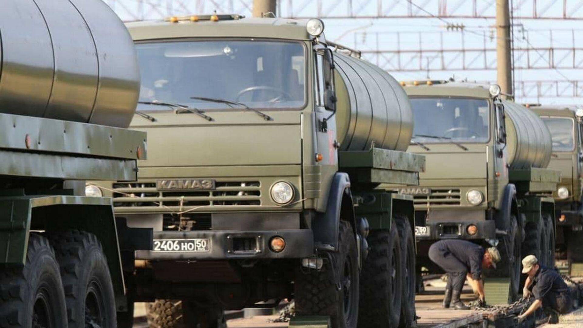 В Беларусь продолжают прибывать эшелоны с военнослужащими Российской Федерации - Sputnik Беларусь, 1920, 23.07.2021