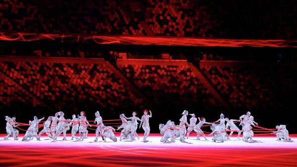 Цырымонія адкрыцця Алімпійскіх гульняў пачалася ў Токіа - Sputnik Беларусь