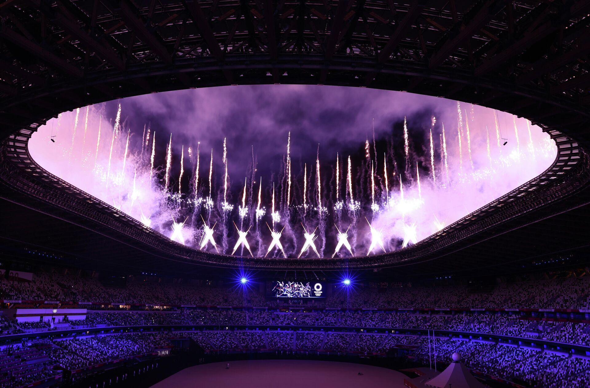 Церемония открытия Олимпийских игр началась в Токио - Sputnik Беларусь, 1920, 23.07.2021