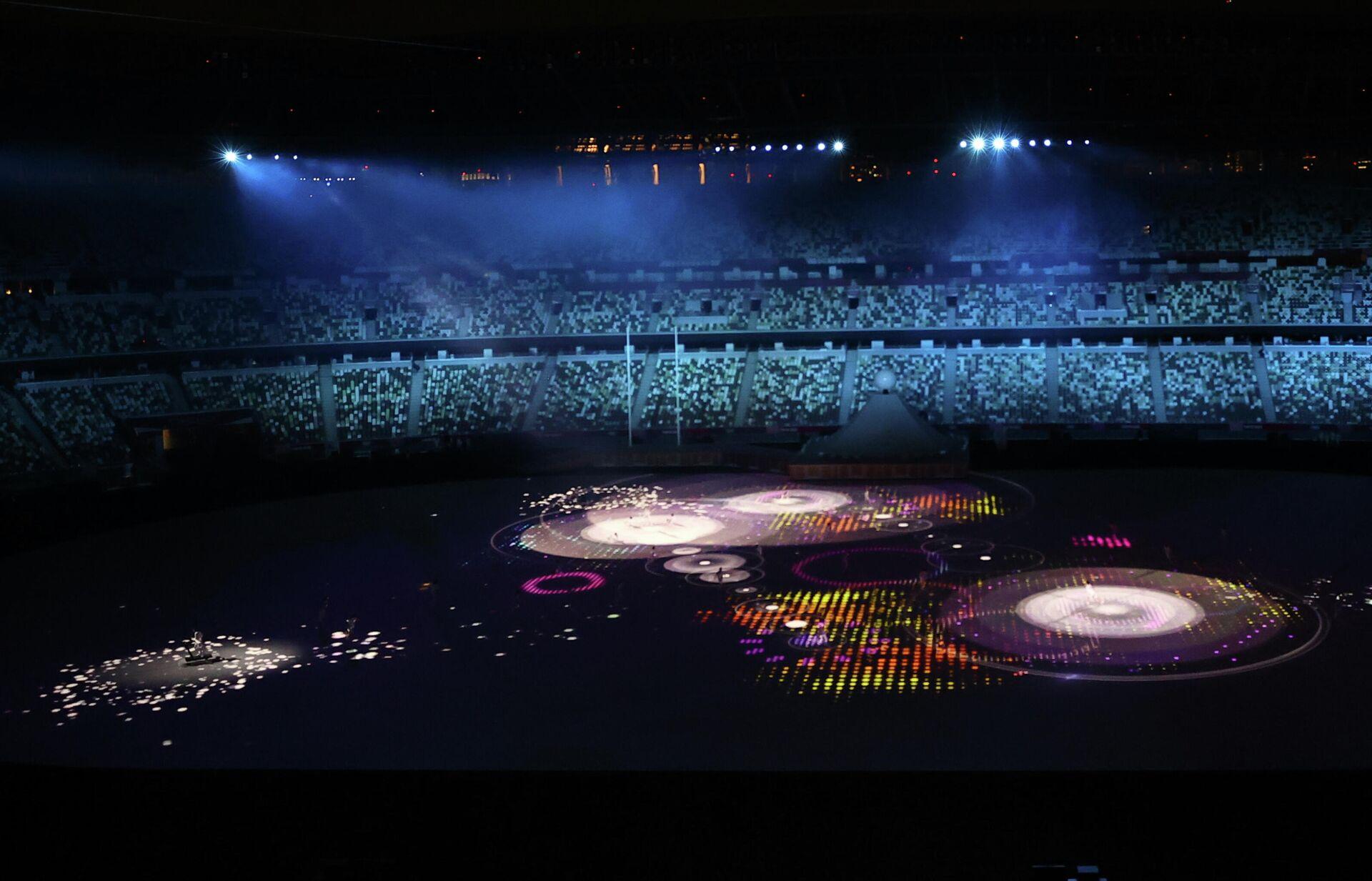 Открытие Олимпийских игр в Токио проходит почти при пустых трибунах  - Sputnik Беларусь, 1920, 23.07.2021