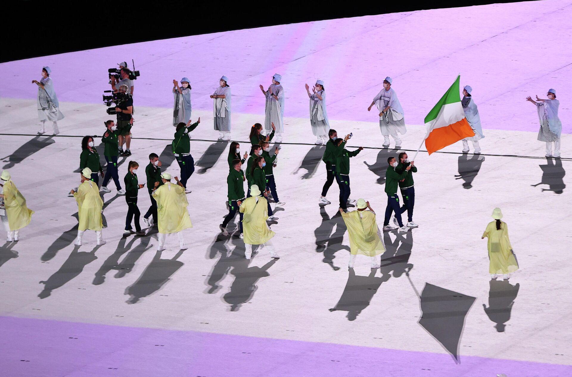 Делегация Ирландии на церемонии открытия Олимпиады - Sputnik Беларусь, 1920, 23.07.2021