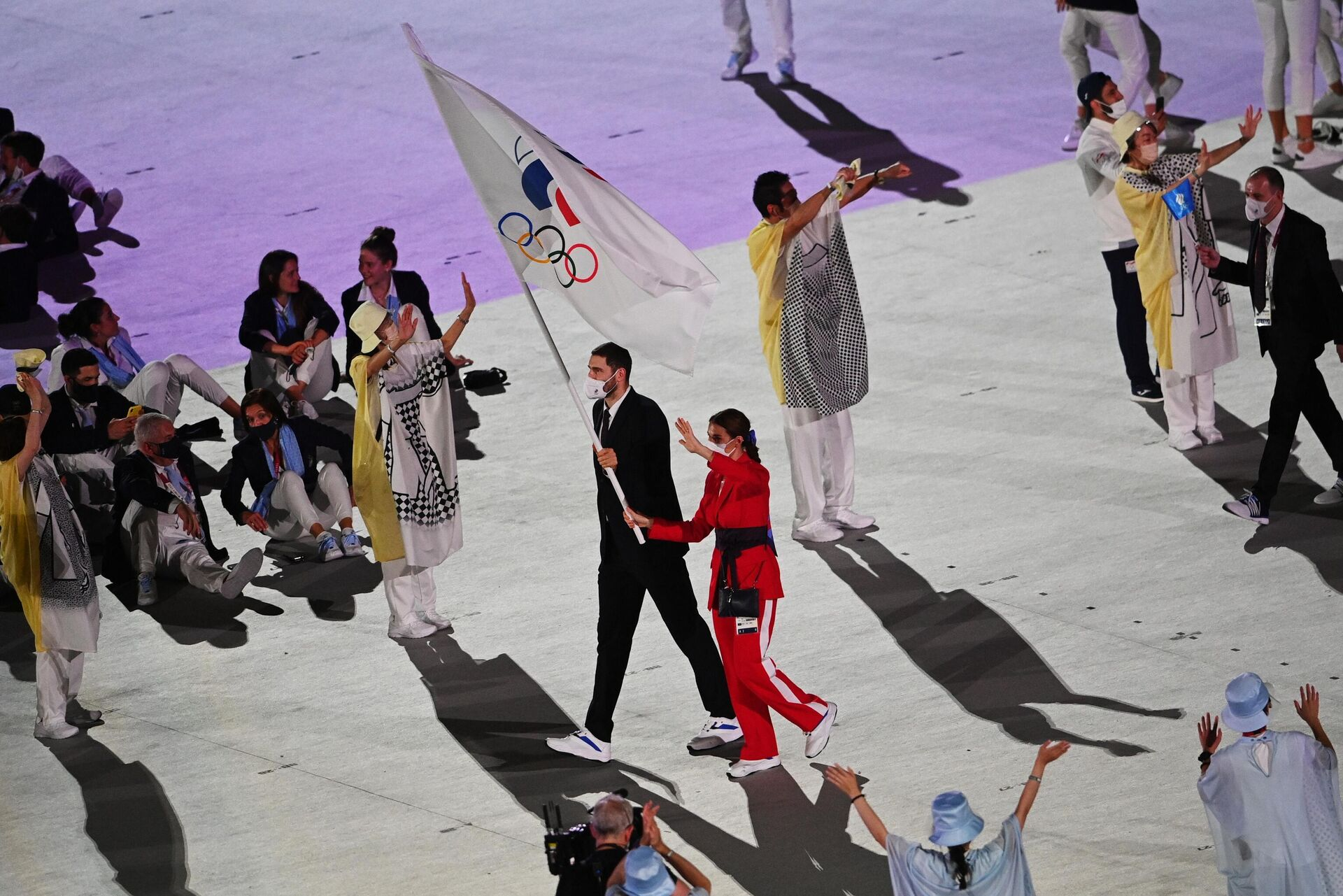Церемония открытия XXXII летних Олимпийских игр - Sputnik Беларусь, 1920, 23.07.2021