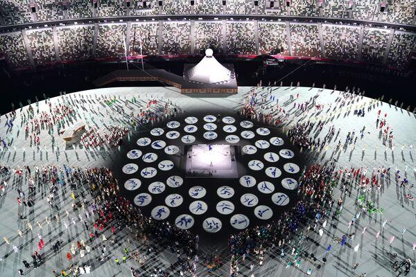 Акрамя таго, тэма адкрыцця - аднаўленне Японіі пасля самага разбуральнага ў яе гісторыі землятрусу 2011 года. - Sputnik Беларусь