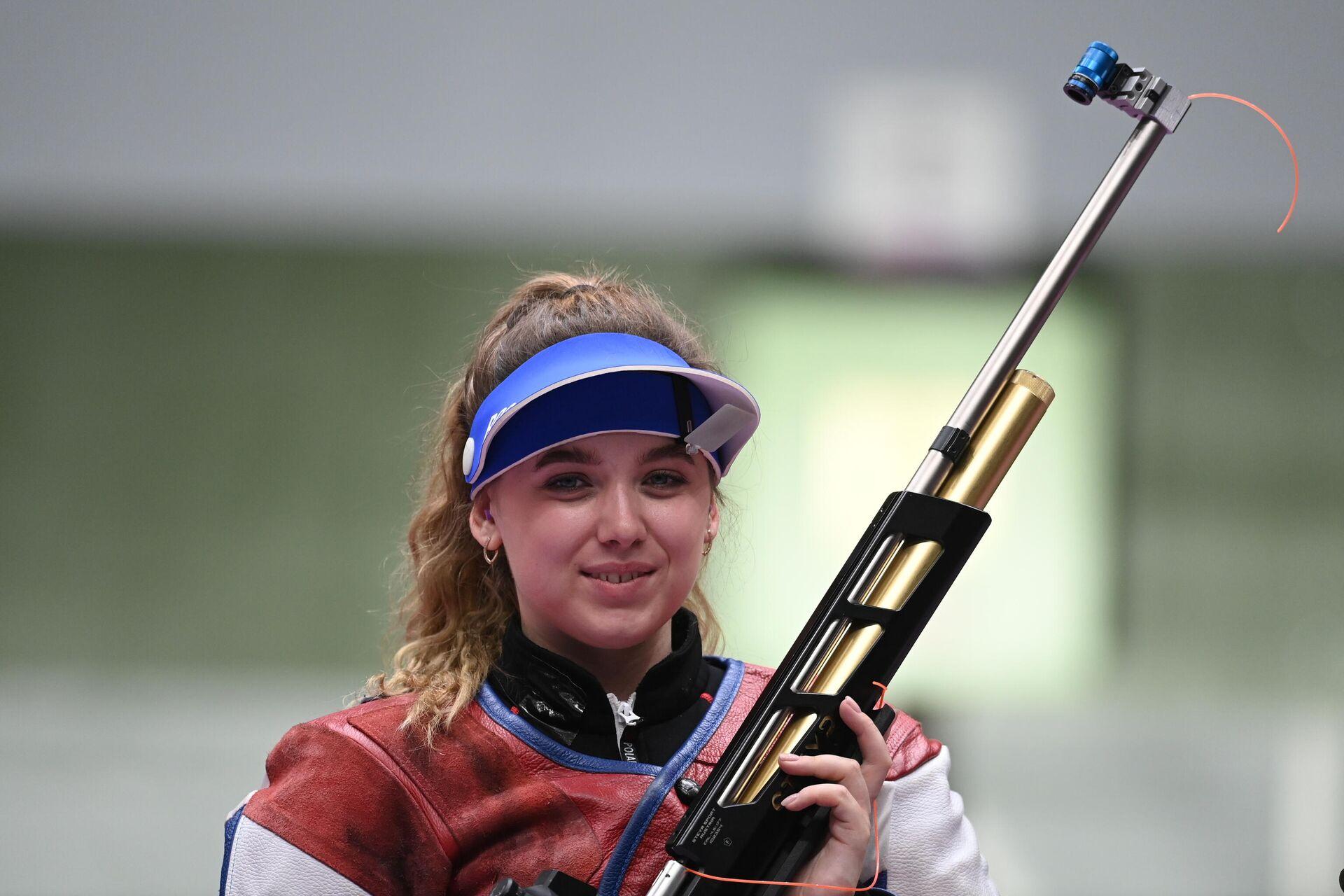 Российская спортсменка Анастасия Галашина на Олимпийских играх в Токио - Sputnik Беларусь, 1920, 24.07.2021