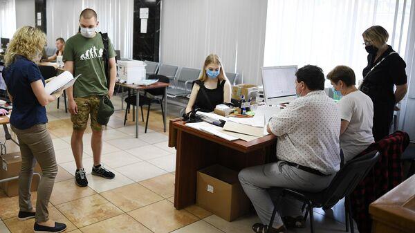 Работа приемной комиссии - Sputnik Беларусь