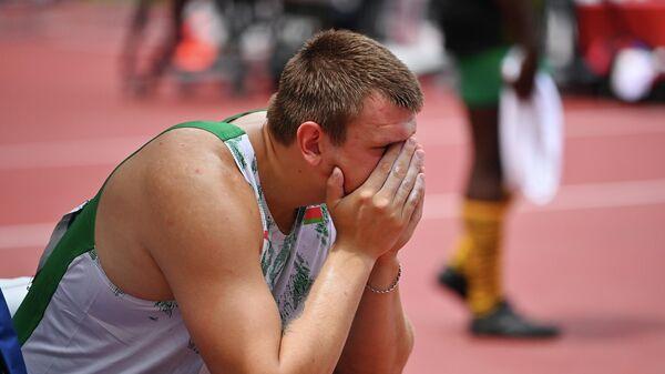 Легкоатлет Евгений Богуцкий на Олимпийских Играх в Токио - Sputnik Беларусь