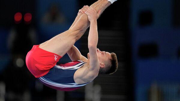 Олимпийский чемпион в прыжках на батуте Иван Литвинович - Sputnik Беларусь