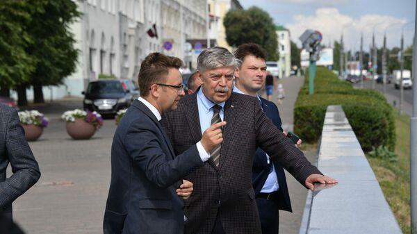 Посол РФ Евгений Лукьянов - Sputnik Беларусь