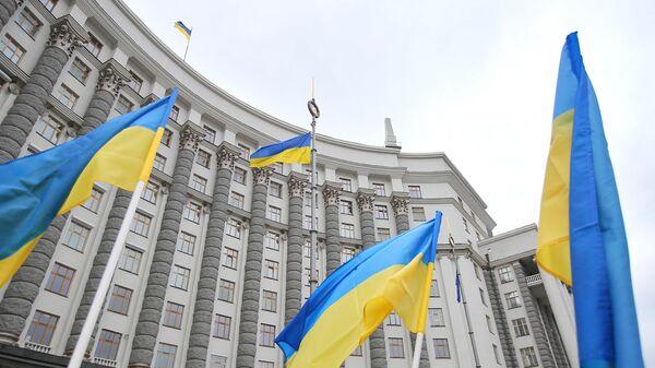 Здание правительства Украины в Киеве - Sputnik Беларусь