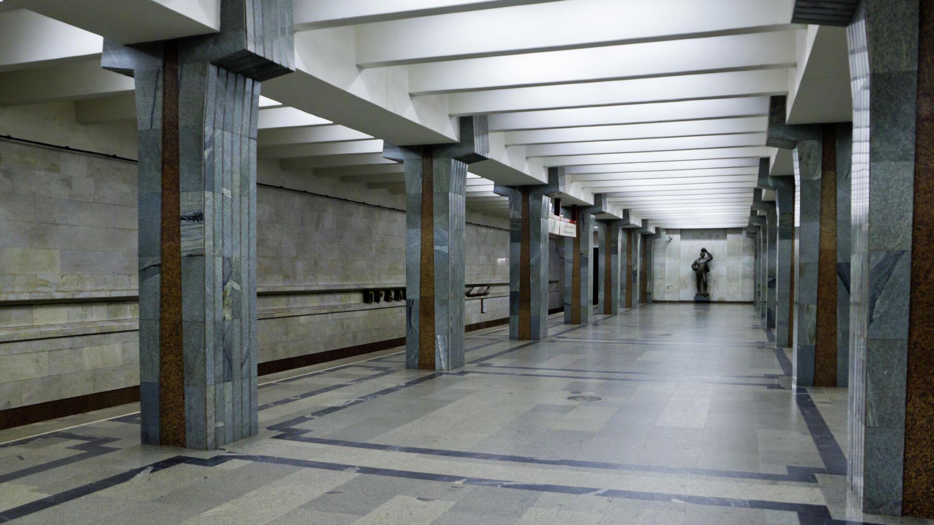 Станция метро Пролетарская, Минск - Sputnik Беларусь, 1920, 05.08.2021