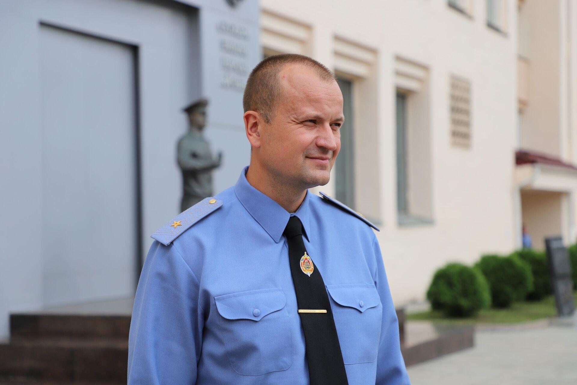 Генерал-майор милиции Александр Васильев - Sputnik Беларусь, 1920, 05.08.2021