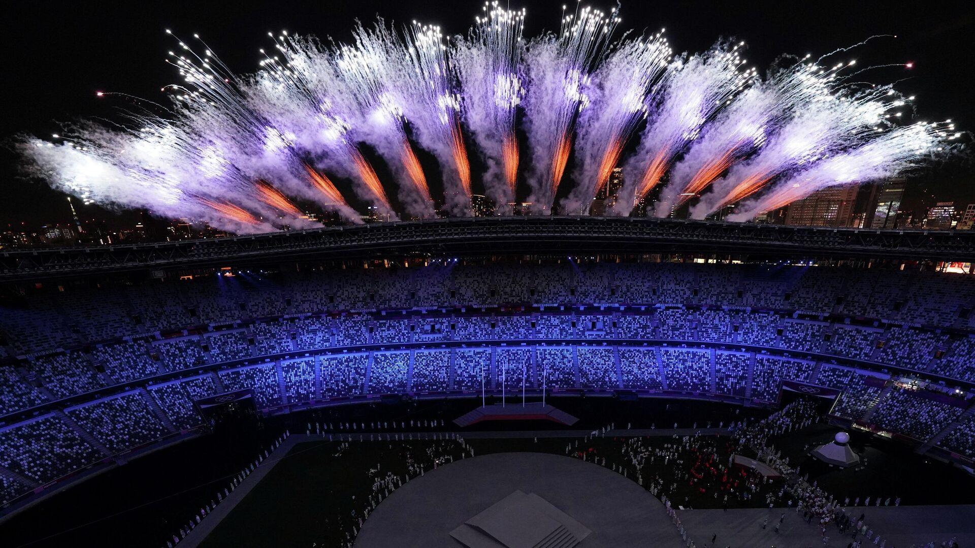 Закрытие Олимпийских игр в Токио - Sputnik Беларусь, 1920, 08.08.2021