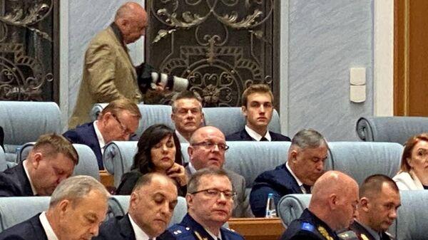 Николай Лукашенко на Большом разговоре с президентом - Sputnik Беларусь