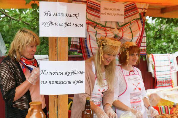 Мотольские колбасы имеют почти столетнюю историю. - Sputnik Беларусь