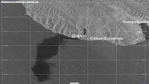 Разлив нефти около Новороссийска - Sputnik Беларусь