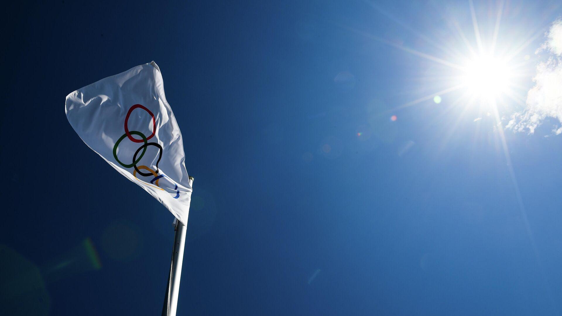 Олимпийский флаг - Sputnik Беларусь, 1920, 29.09.2021
