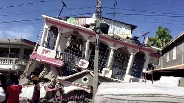 Последствия землетрясения на Гаити - Sputnik Беларусь