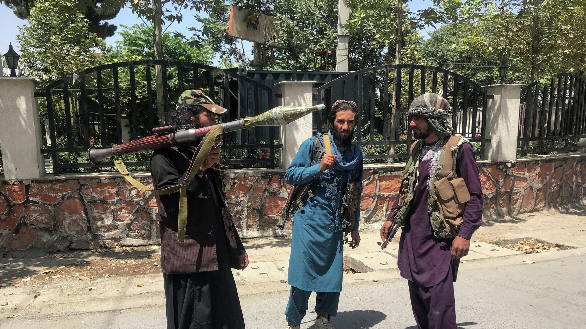 Талибы в Кабуле - Sputnik Беларусь, 1920, 10.10.2021