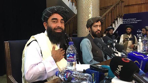 Пресс-конференция представителей движения Талибан - Sputnik Беларусь