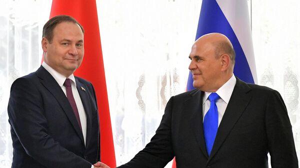 Премьер-министр РФ М. Мишустин принимает участие в заседании Евразийского межправительственного совета - Sputnik Беларусь
