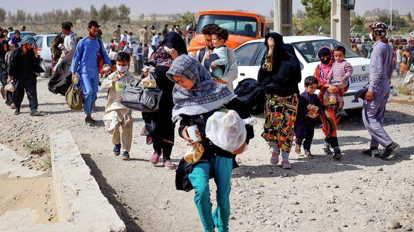Афганскія бежанцы - Sputnik Беларусь