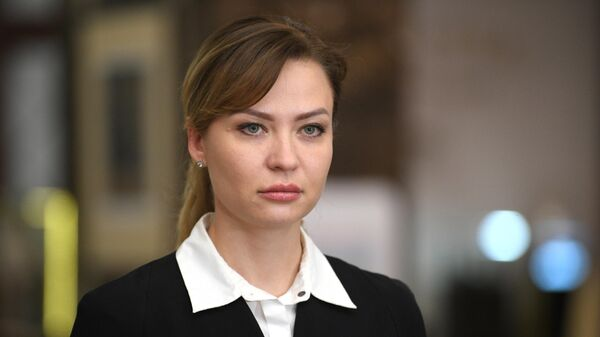 Глава МИД ДНР Наталья Никонорова - Sputnik Беларусь