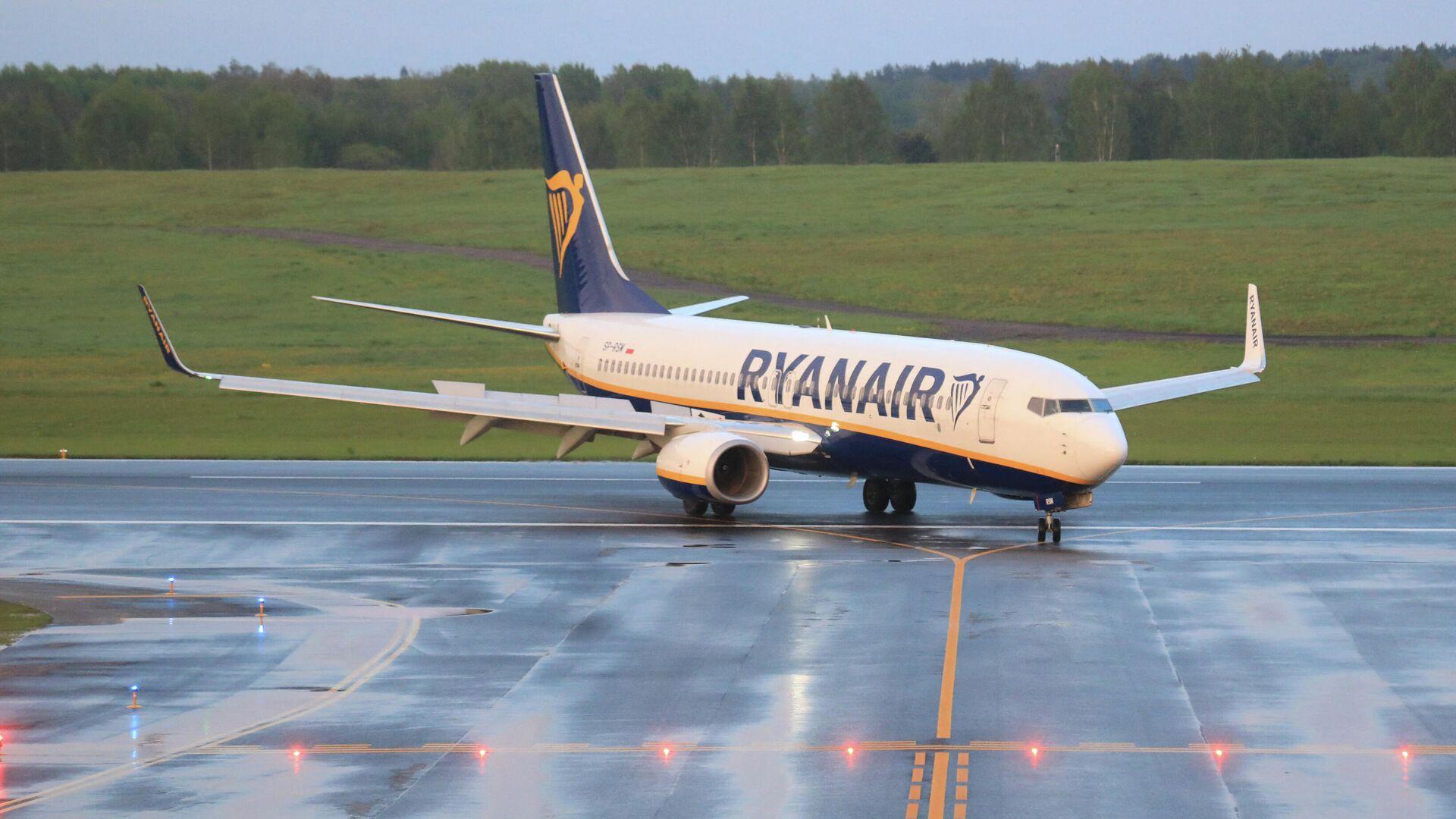 Самолет Ryanair - Sputnik Беларусь, 1920, 16.09.2021