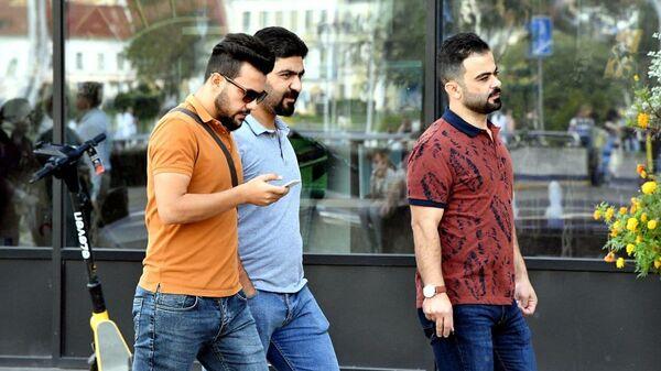 Арабские туристы в Минске - Sputnik Беларусь