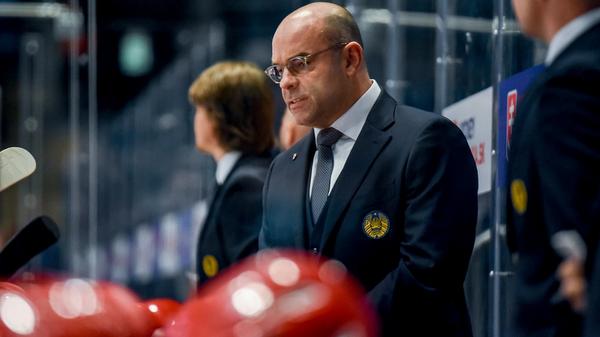 Главный тренер белорусской хоккейной сборной Крэйг Вудкрофт - Sputnik Беларусь