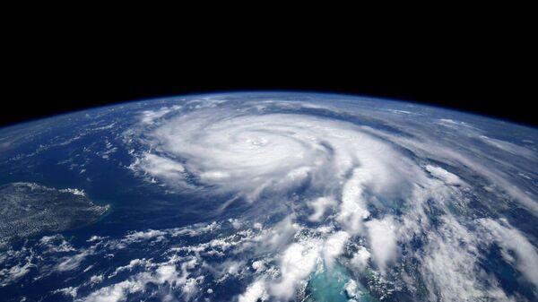 Ураган Ида из космоса - Sputnik Беларусь