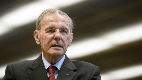 Бывший глава Олимпийского комитета Жак Рогге - Sputnik Беларусь