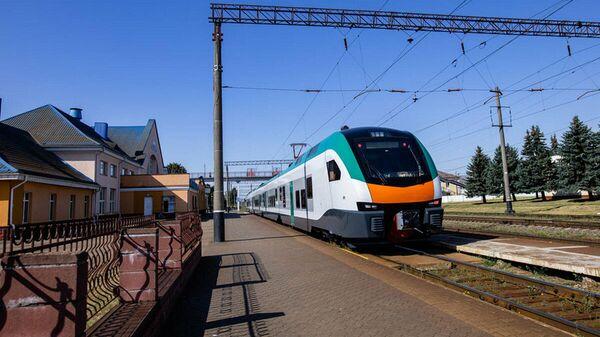 Новые пассажирские электропоезда - Sputnik Беларусь