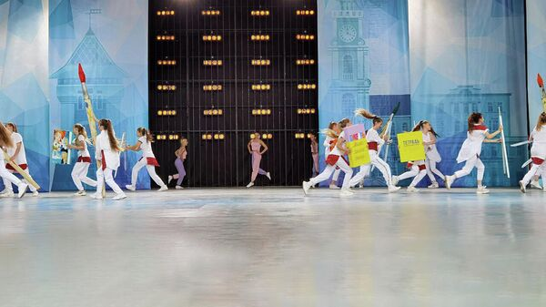 День знаний по-витебски: шоу для школьников в Летнем амфитеатре – видео - Sputnik Беларусь