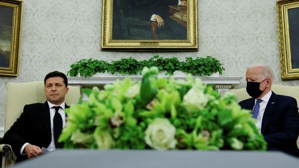 О чем Зеленский не договорился с Байденом и что обсудят Путин и Лукашенко - Sputnik Беларусь