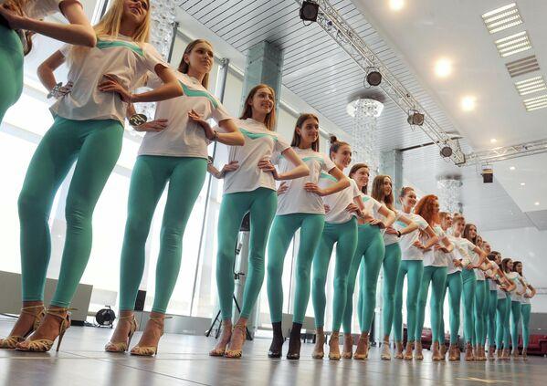 29 фіналістак прайшлі ўсе этапы адбору, каб пазмагацца за тытул. - Sputnik Беларусь