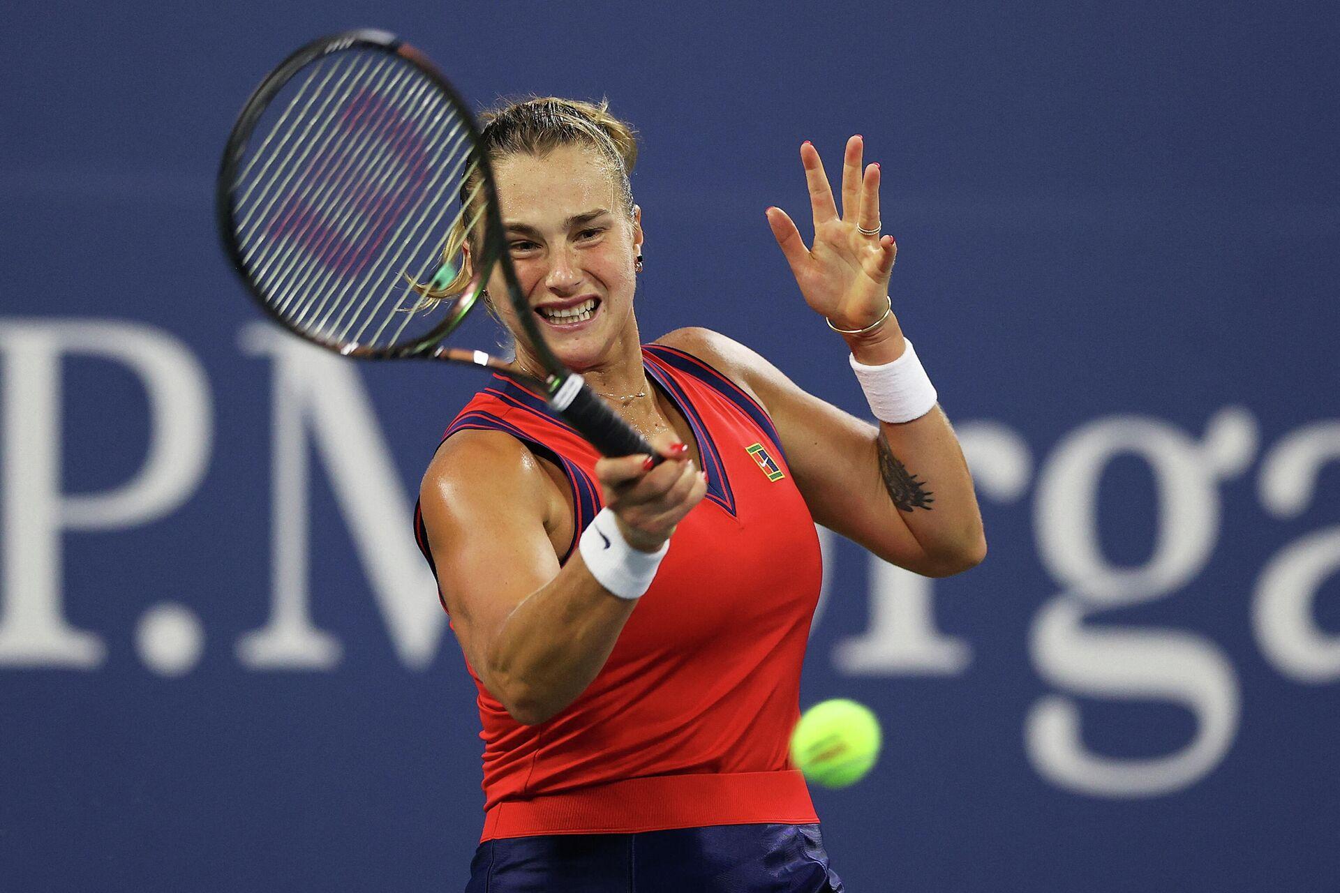 Арина Соболенко в матче 1/16 финала US Open переиграла американку Даниэль Коллинз  - Sputnik Беларусь, 1920, 04.09.2021