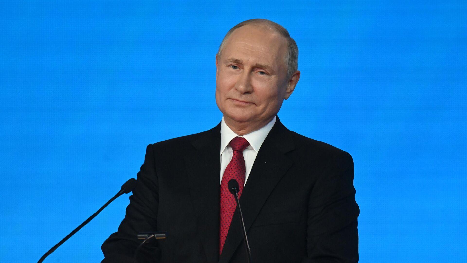 Президент РФ Владимир Путин  - Sputnik Беларусь, 1920, 16.09.2021