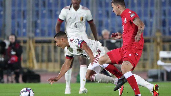 Матч отборочного турнира чемпионата мира 2022 года Беларусь-Бельгия - Sputnik Беларусь