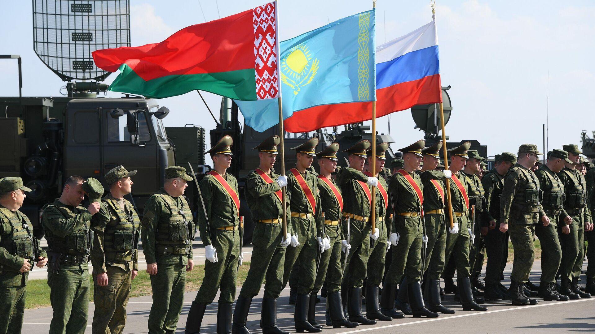 Пачатак вучэння Захад-2021 - Sputnik Беларусь, 1920, 09.09.2021