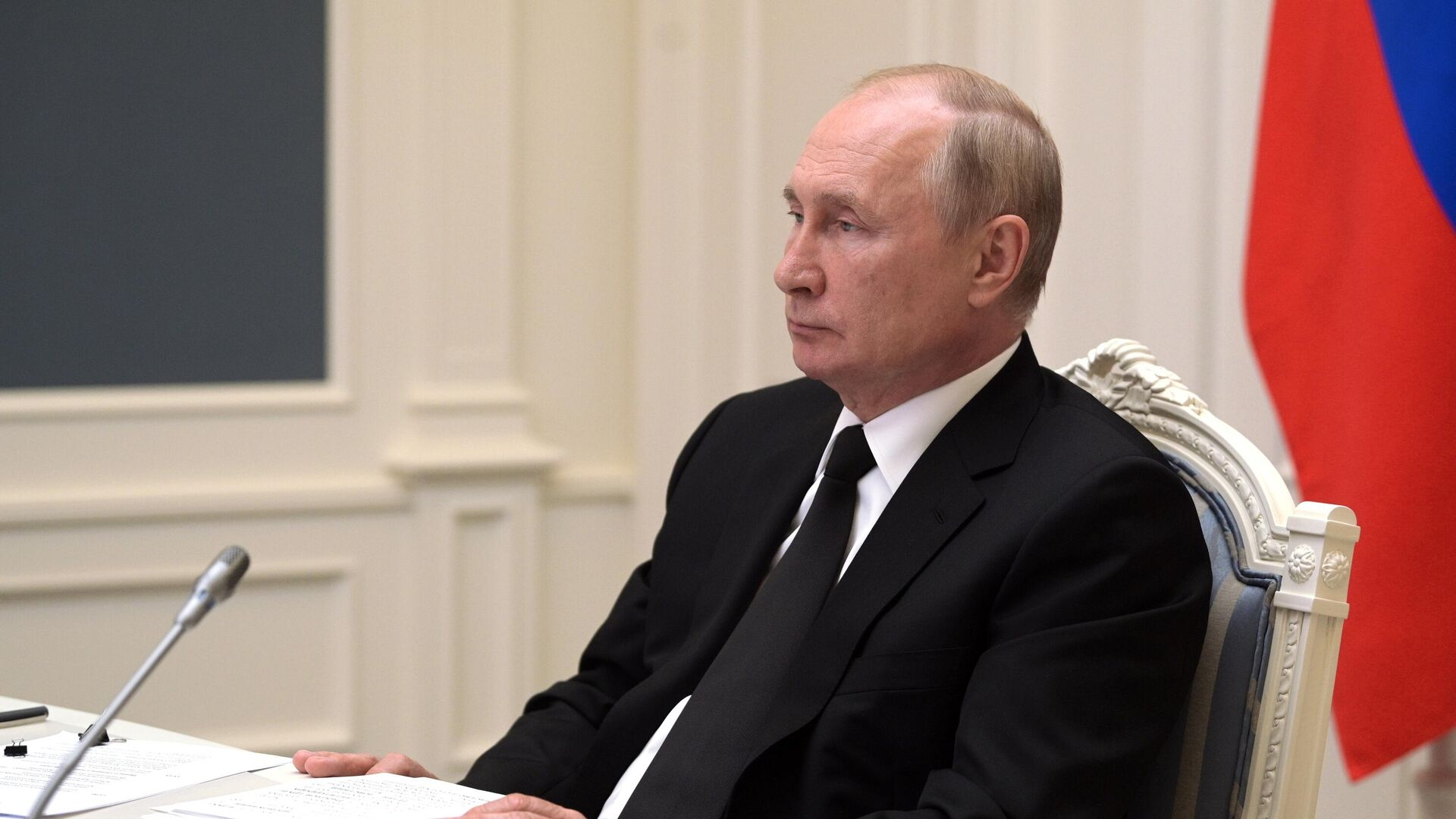 Президент РФ Владимир Путин - Sputnik Беларусь, 1920, 06.10.2021