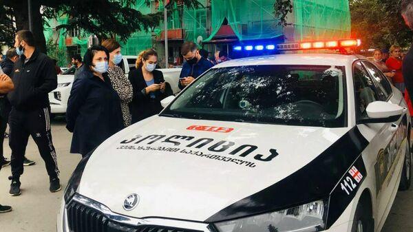 Грузинская полиция на месте ЧП - Sputnik Беларусь