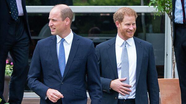 Британские принцы Уильям, герцог Кембриджский, и Гарри, герцог Сассекский - Sputnik Беларусь