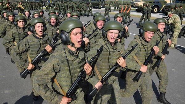 Учения Запад-2021 - Sputnik Беларусь