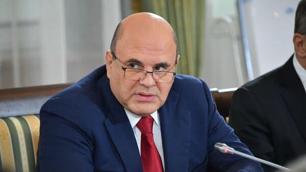Михаил Мишустин на Совете министров Союзного государства - Sputnik Беларусь